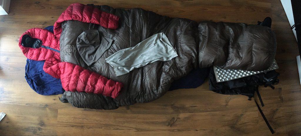 ultraleichtes Schlafsystem